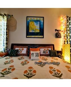 Mughal Buta Bed Sheet
