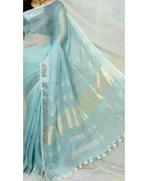 Linen saree( SOLD)